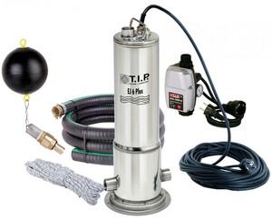 T.I.P Tauchdruckpumpen/Tiefbrunnenpumpen EJ 6 Plus m. Anschlußzubehör u. elektr. Steuerung