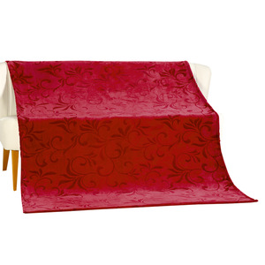 Bella Casa Kaschmir-Touch-Decke ca. 150 x 200 cm, Rot