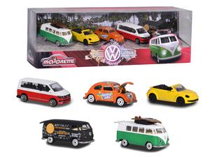 Majorette - Volkswagen 5 Pieces Giftpack