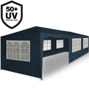Deuba Festzelt 3x9m - 27m² - blau