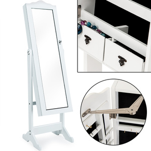 Deuba Spiegelschrank schwenkbar weiß