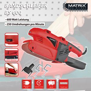 Matrix Bandschleifer BS 600