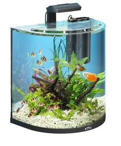 Tetra AquaArt Explorer Line Aquarium-Komplett-Set 60l - schwarz