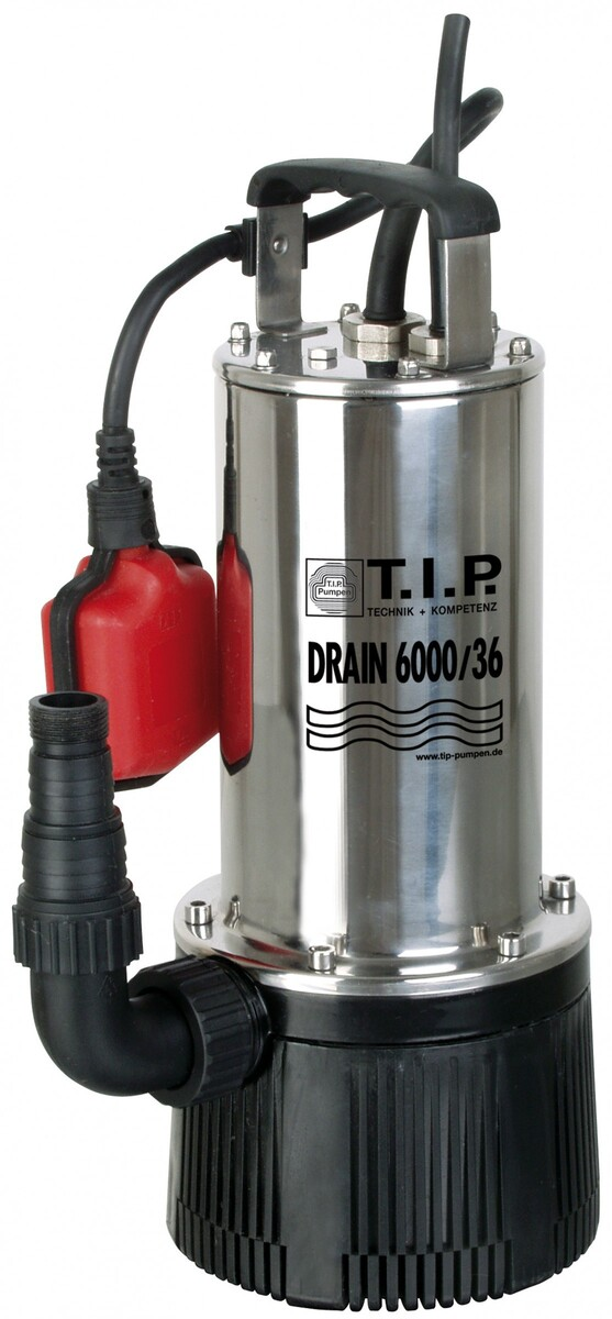 Bild 1 von T.I.P Tauchdruckpumpen / Tiefbrunnenpumpen DRAIN 6000/36
