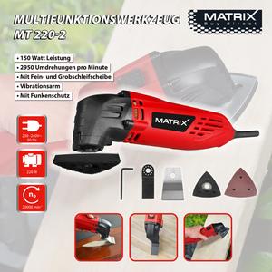 Matrix Multifunktionswerkzeug MT 220-2