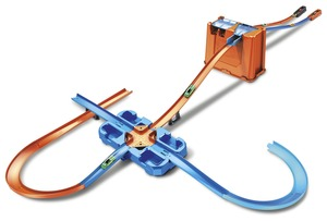 Hot Wheels Track Builder Mega Stunt Box