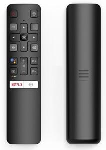 TCL Fernbedienung für Sprachsteuerung mit Google Assistant RC802V