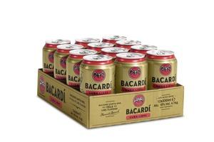 [3,00 € Pfand im Preis enthalten] Bacardi Cuba Libre | 10 % vol |12 x 0,33 l Dosen Tray