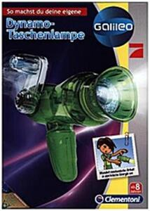Clementoni 69485 Galileo Dynamo Taschenlampe