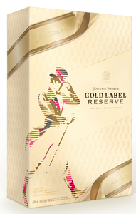Johnnie Walker Gold Label Reserve Blended Scotch Whisky + 2 Tumbler Geschenkpackung Aktionsware | 40 % vol | 0,7 l