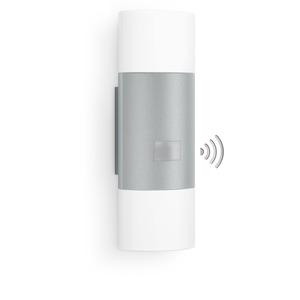 Steinel LED-Außenleuchte L 910, silbern