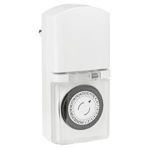toom Feuchtraum-Zeitschaltuhr weiß