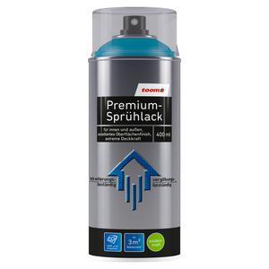 toom Premium-Sprühlack seidenmatt petrol 400 ml
