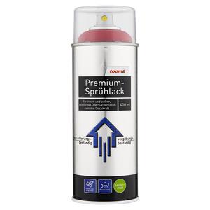 toom Premium-Sprühlack seidenmatt purpurrot 400 ml