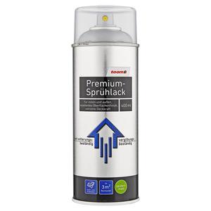 toom Premium-Sprühlack seidenmatt graualuminium 400 ml