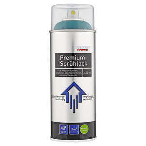 toom Premium-Sprühlack seidenmatt moosgrün 400 ml