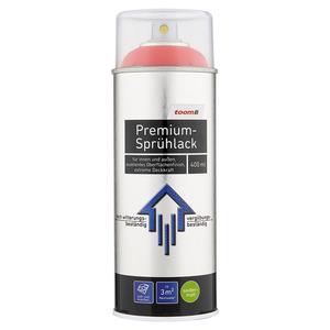 toom Premium-Sprühlack RAL 3020 'Verkehrsrot' seidenmatt 400 ml