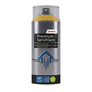 toom Premium-Sprühlack RAL 1023 'Verkehrsgelb' seidenmatt 400 ml