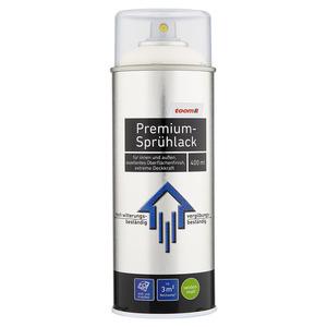 toom Premium-Sprühlack RAL 9010 'Reinweiß' seidenmatt 400 ml