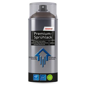 toom Premium-Sprühlack RAL 8017 'Schokoladenbraun' seidenmatt 400 ml