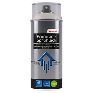 toom Premium-Sprühlack RAL 9001 'Cremeweiß' seidenmatt 400 ml