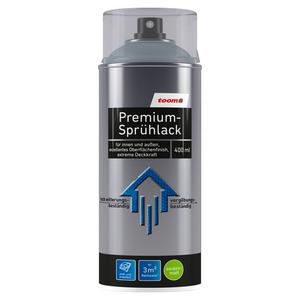 toom Premium-Sprühlack RAL 7001 'Silbergrau' seidenmatt 400 ml