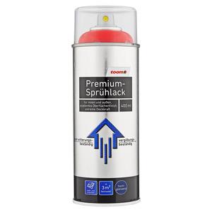 toom Premium-Sprühlack RAL 3020 'Silbergrau' hochglänzend 400 ml
