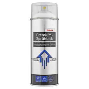 toom Premium-Sprühlack RAL 9010 'Reinweiß' hochglänzend 400 ml