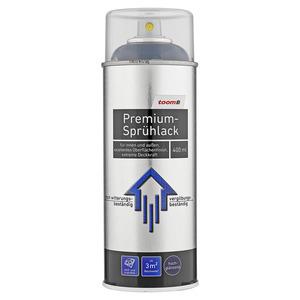 toom Premium-Sprühlack RAL 9005 'Tiefschwarz' hochglänzend 400 ml