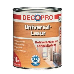 DecoPro Universal-Lasur 750 ml teak