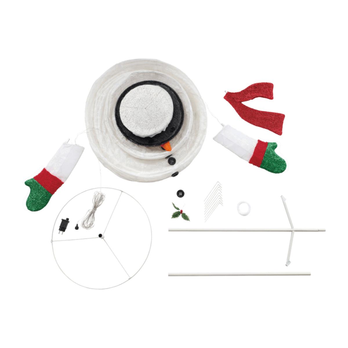 Bild 3 von LIGHTZONE     XXL-Weihnachtsfigur