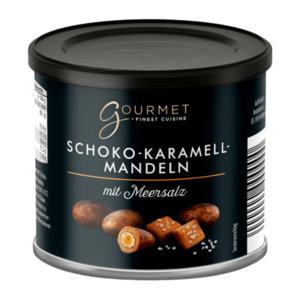 Gourmet     Schoko-Karamell-Mandeln