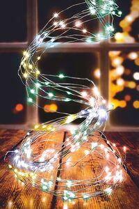 Dekor LED Lichterschweif - Multicolor