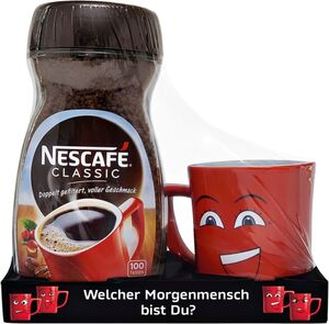 Nescafe Classic mit Roter Tasse 200g