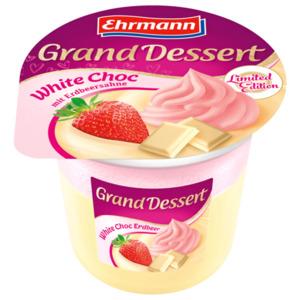Ehrmann Grand Dessert White Choc Erdbeer 190g