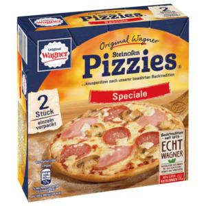Original Wagner Pizza Steinofen Pizzies Speciale Tiefgefroren 2x150g
