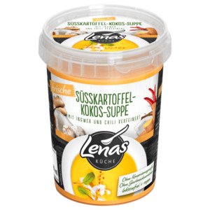 Lenas Küche Süßkartoffel-Kokos-Suppe 500g