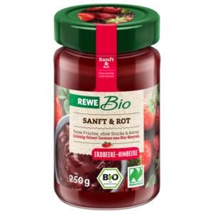 REWE Bio Sanft & Rot Erdbeere-Himbeere 250g