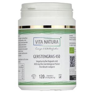 Vita Natura Gerstengras Vegikapseln 450 mg 120 Stk.
