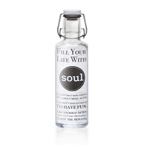 Soulproducts GmbH Soulbottle Fill your Life with Soul 0,6l