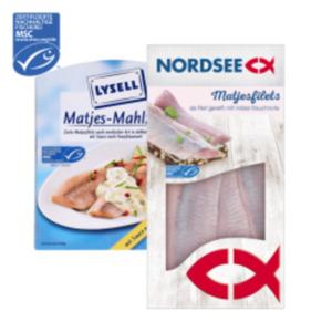Nordsee Matjesfilet oder Lysell Matjes-Mahlzeit