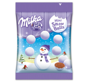 MILKA Mini Snowballs