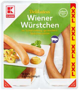 Wiener Würstchen XXL