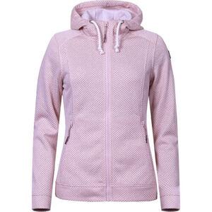 """Icepeak Sweatjacke """"LESLEY"""", Strick-Struktur, Reißverschlusstaschen, für Damen, rosa, XL"""