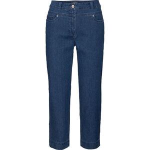Adagio Damen 6/8 Jeans, jeansblau, 44, 44