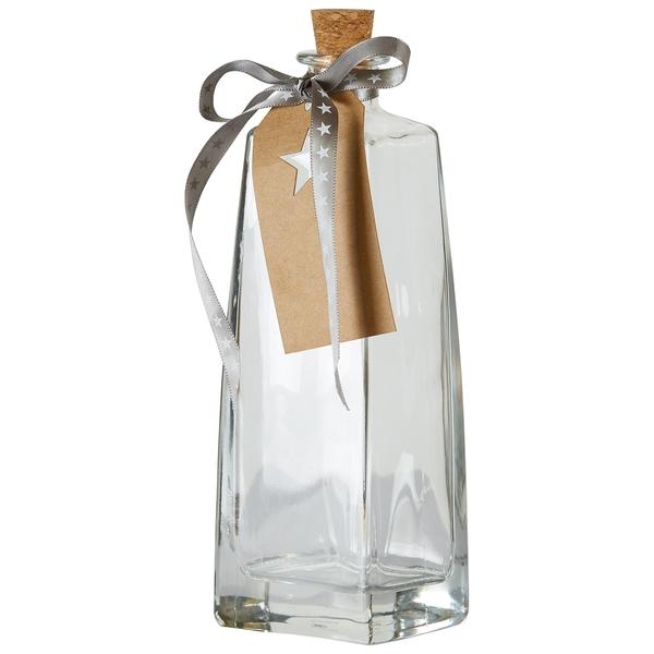 Glasflasche mit Korken (400 ml)