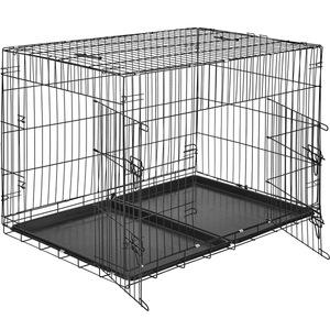 Hundebox Gitter tragbar 106 x 70 x 76 cm
