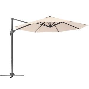 Sonnenschirm Ampelschirm Ø 300cm beige