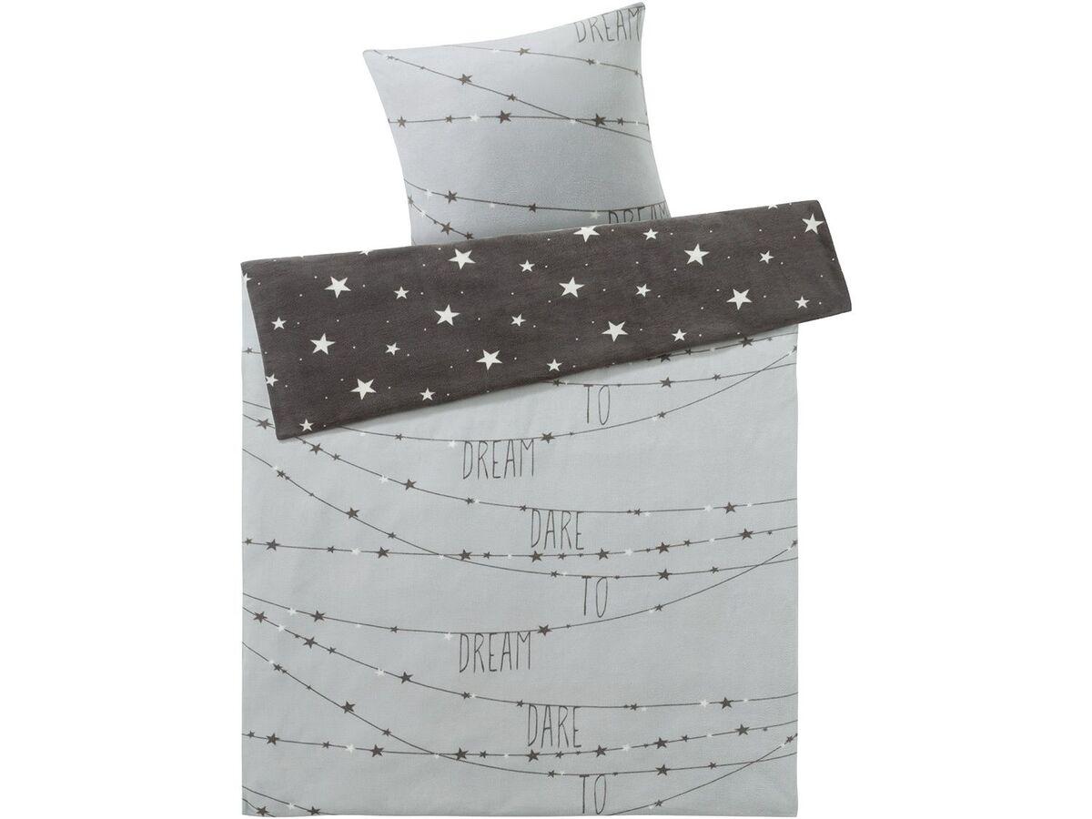 Bild 2 von MERADISO® Mikrofaser-Fleece-Bettwäsche, 135 x 200 cm