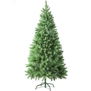 Künstlicher Weihnachtsbaum 180 cm 742 Spitzen und...